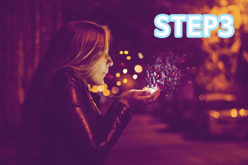 STEP3 夢を目標にする