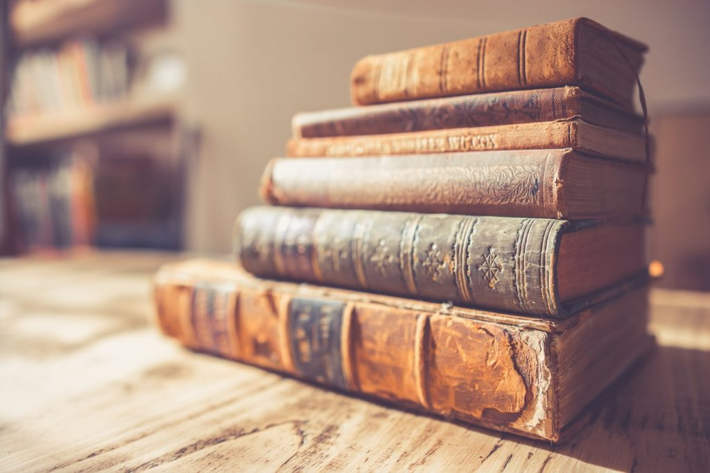 静かな本屋にいくと落ち着く