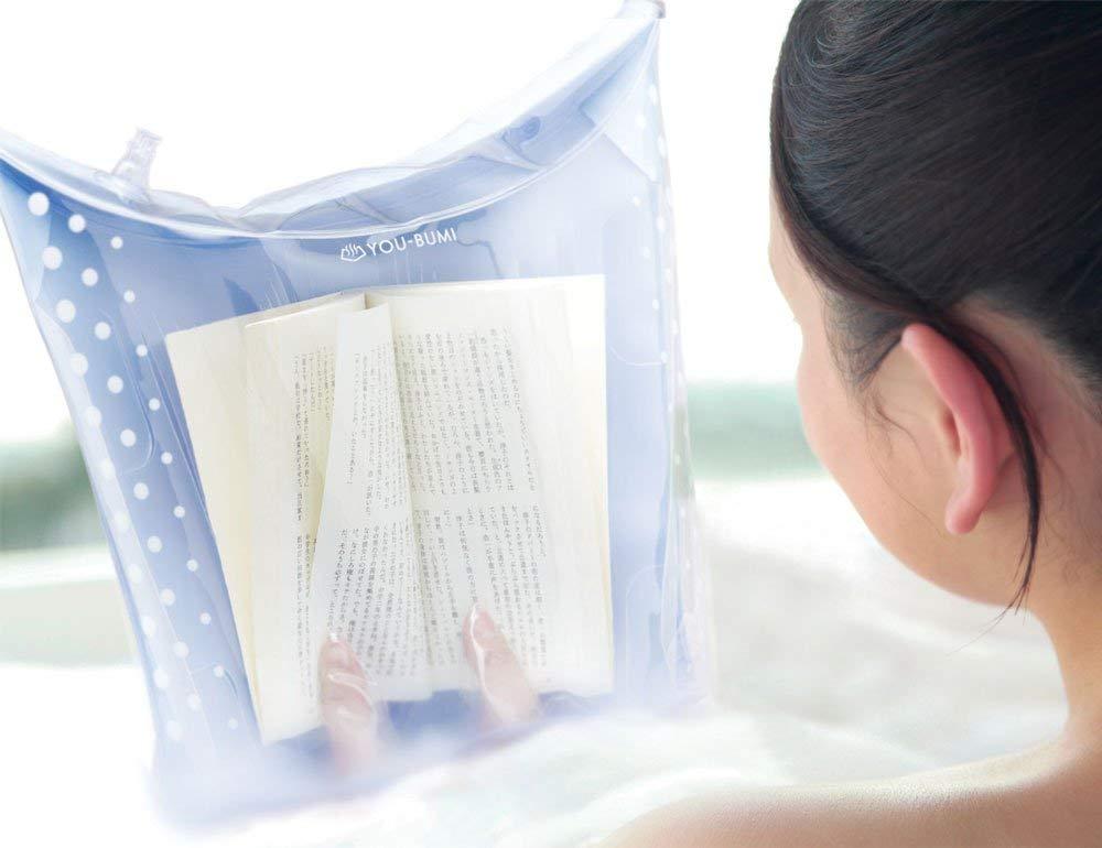 アイテムを使ったお風呂で本を読む方法『ユウブミ~湯文~』
