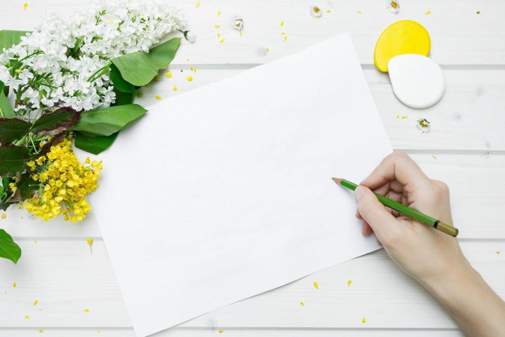①自分がやりたいことを紙に列挙する