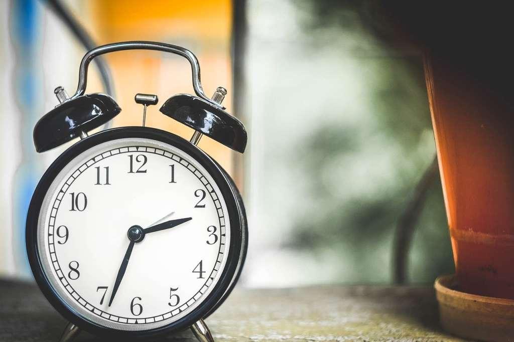 時間に制限のある朝は、最高の時間マネジメントの訓練時間です