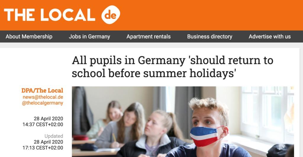 3位:ドイツの日付の英語表記